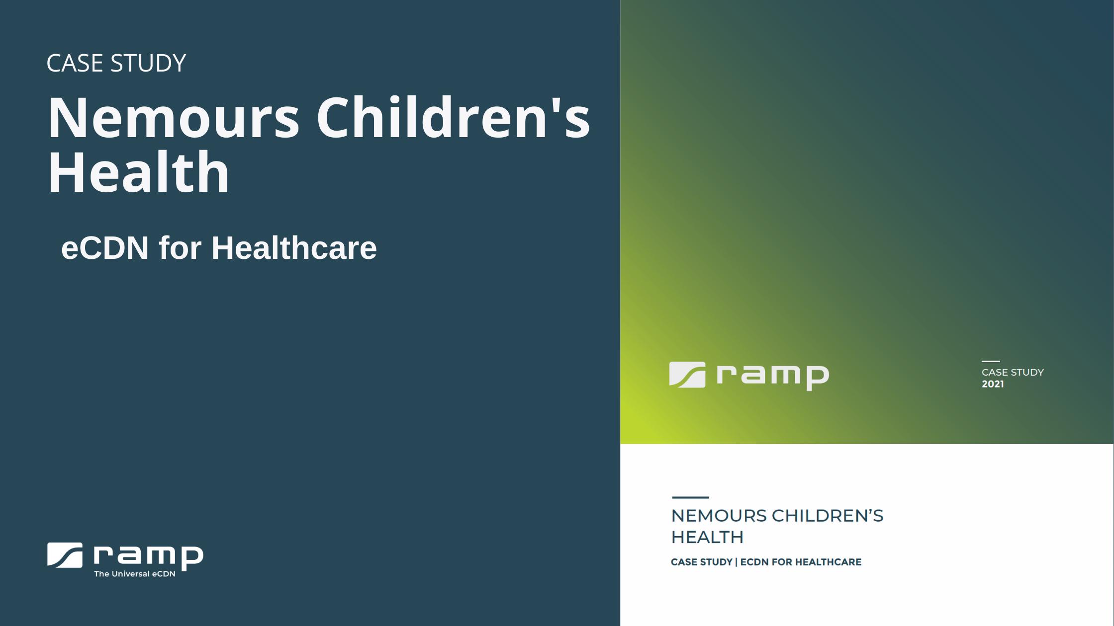 Nemours Children's Health Case Study